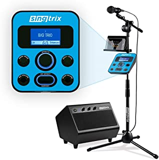 Singtrix Party Bundle Second Edition Karaoke Machine for Kids and Adults as seen on Shark Tank - Includes Microphone, Spea...