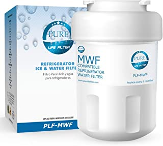 Pure Life Filter GE MWF Compatible Water Filter, Replacement for GE MWF, MWFP, MWFA, GWF, GWFA, SmartWater, Kenmore 9991, 46-9991, 469991 – 1 Pack