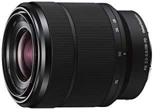 Sony 28-70mm F3.5-5.6 FE OSS Interchangeable Standard...