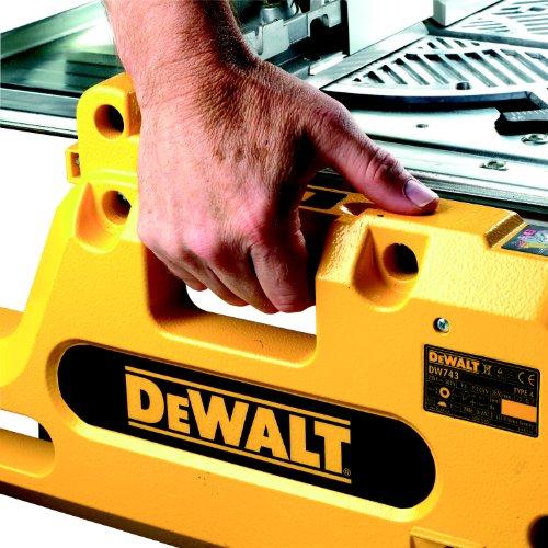 DEWALT DW743N-QS Tisch-,Kapp-Gehrungsäge / 2000W inkl. Paralellansch. - 5