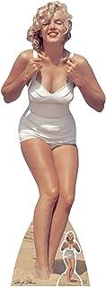 Star Cutouts Ltd Auténticas Marcas de Marilyn Monroe Recortadas tamaño Real, cartón, Multicolor, 172 x 63 x 172 cm