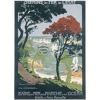 Herb/é /™ CAYEUX sur MER Rf1130-Poster//Reproduction 40x60cm* d1 Affiche Vintage//Ancienne//R/éTRO