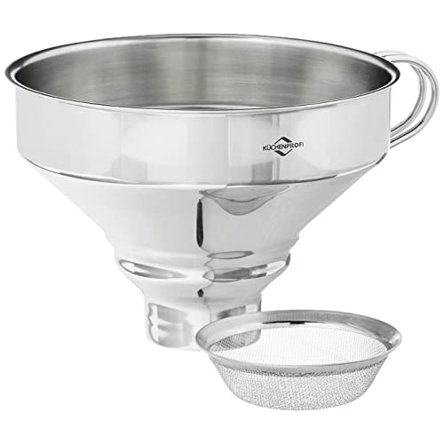 Sizes Large To Small Funnels Set Silver Ofkpo 3pcs Stainless Steel Small Kitchen Filling Funnels With Handles Mimbarschool Com Ng