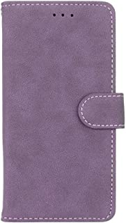 For Huawei Nova 3 Case,Matting PU Leather Protection 3 Card Slots Wallet Flip Case Cover(Purple)