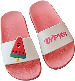 KItipeng Sandales Tongs B/éB/é Fille Enfants D/éT/é,Pas Cher Rome Style Chaussures De Plage,Enfants Sandales Grande Filles Plat Pricness Chaussures,pour 6-24 Mois Et 2-5 Ans,Chaussures pour Enfants