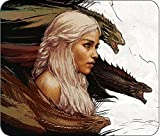 GAME OF THRONES - COMPUTER MOUSE PAD - 10IN X 8IN - DAENERYS 'MOTHER OF DRAGONS'
