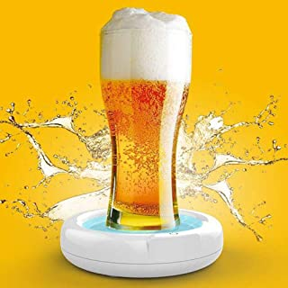 Mousse à bière ultrasonique 3.7V 110KHZ Bubbler pour la bière Batterie au lithium intégrée 1800mAh, cadre avec support en ...