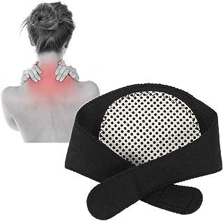 Filfeel Neck Brace, Cuello de autocalentamiento Cuello de cuello Cinturón natural Terapia física para el