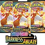 Pokemon - Darkness Ablaze Booster Pack Single