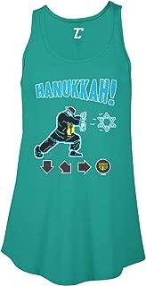 Hanukkah! - Video Game Retro Star of David Women's Flowy Tank Top