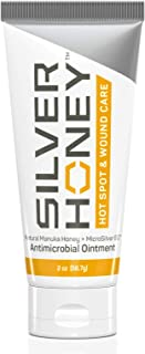 Absorbine Silver Honey Hot Spot & Wound Care Ointment, Manuka Honey & MicroSilver BG, Medicated Skin Care for Dogs, Cats, ...