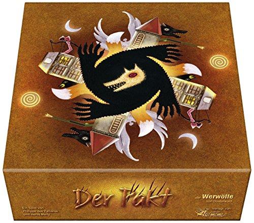 Asmodee - 2361 - Jeu - Le Pacte : LIntégrale des Loups-Garou