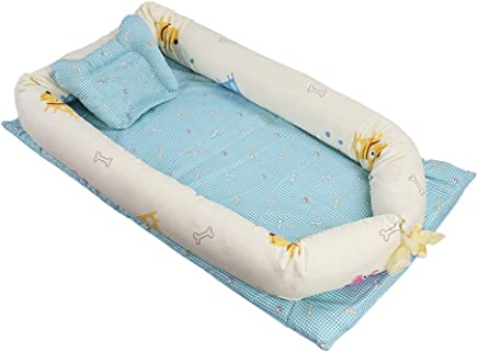 YANGGUANGBAOBEI Newborn Lounger Breathable And Hypoallergenic Toddler Newborn Co-Sleeping Lounger Bed- Nursery Travel Folding Baby Bed Bag C