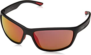 SMITH - Journey UZ 003 63 Gafas de sol, Negro (Matt Black/Grey), Unisex Adulto