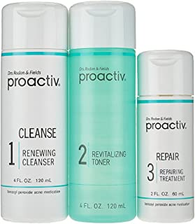 Proactiv 3 Step Acne Kit (60 Day) 3 Bottles with Skin Purifying Mask