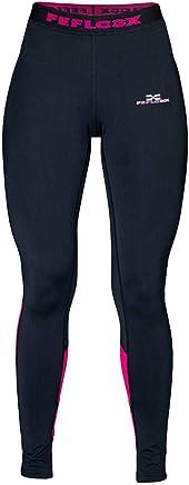 661958314e4b65 Feflogx Sportswear Lange Damen Leggings Motion   Hochwertige Frauen Sport- Tights mit Kompression   Perfekt