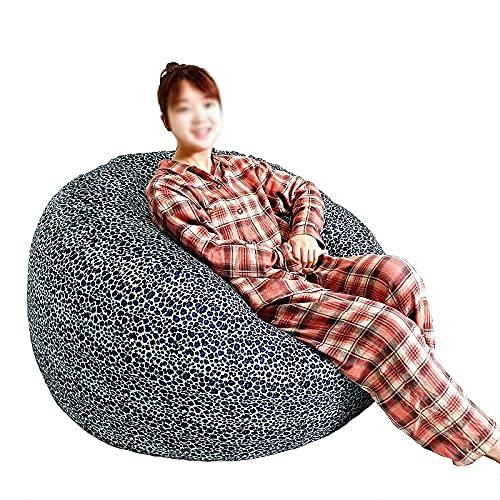 WHHK Futon Couch Cama de Asiento Cubierta de Asiento Muebles de salón Sin Bolsas de Frijoles Relleno Cubierta de Asiento Sala de Estar Tapa de sofá Perezoso (sin Relleno)