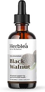 Sponsored Ad - HERBLEA Black Walnut Tincture – Black Walnut Extract – Extracted from Organic Black walnut Hull – Gluten-Fr...