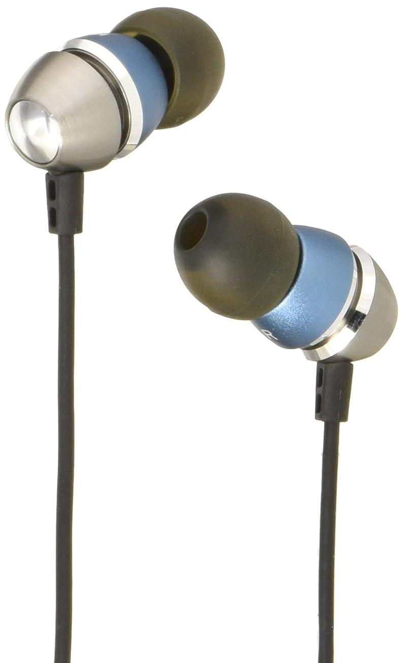 モニターシート傾向がありますAstrotec インナーイヤーヘッドホン ブルー AM700-BL