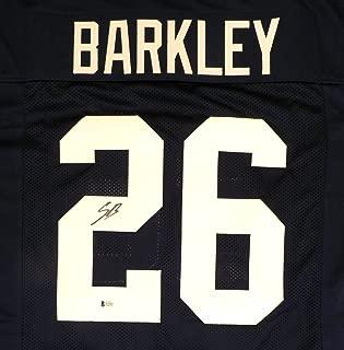 saquon barkley autographed penn state jersey