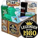 Legenden 1980 | DDR Pflege Geschenk | Geschenk für Mann Geburtstag