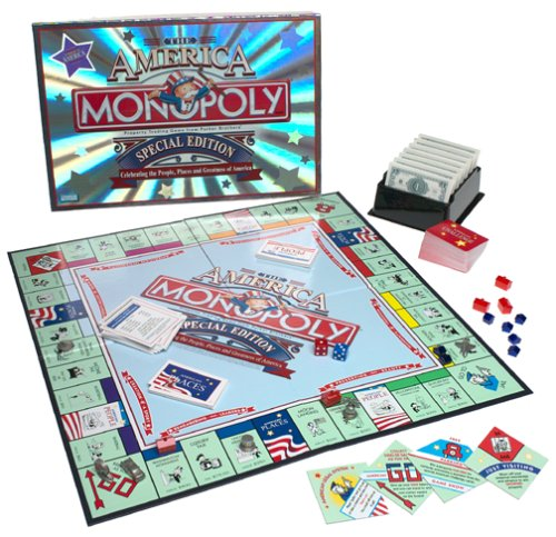 Monopoly ~ the America ~ Special Edition by Parker Brothers: Amazon.es: Juguetes y juegos