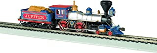 Bachmann Industries 4-4-0 American Steam DCC Central Pacific #60 Jupiter Wood Load Locomotive (HO Scale)