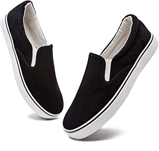 Slip on Shoes Canvas Loafers Men (Runs a Size Bigger Than...