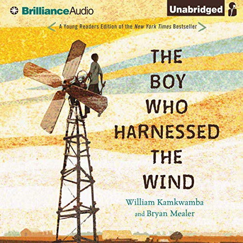 Page de couverture de The Boy Who Harnessed the Wind: Young Readers Edition