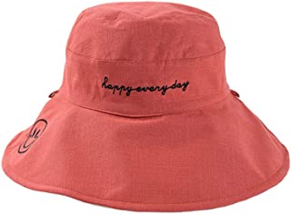 ACVIP Women's Reversible Floppy Outdoor Hiking Farming Bucket Hat
