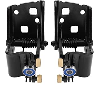 Qiilu 2 pcs Car Left & Right Power Sliding Door Center Roller Assembly Compatible with 1999-2004 Honda Odyssey Replaces 72561-S0X-A51