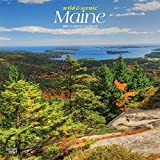 Maine Wild & Scenic 2020 12 x 12 Inch Monthly Square Wall Calendar, USA United States of America Northeast State Nature