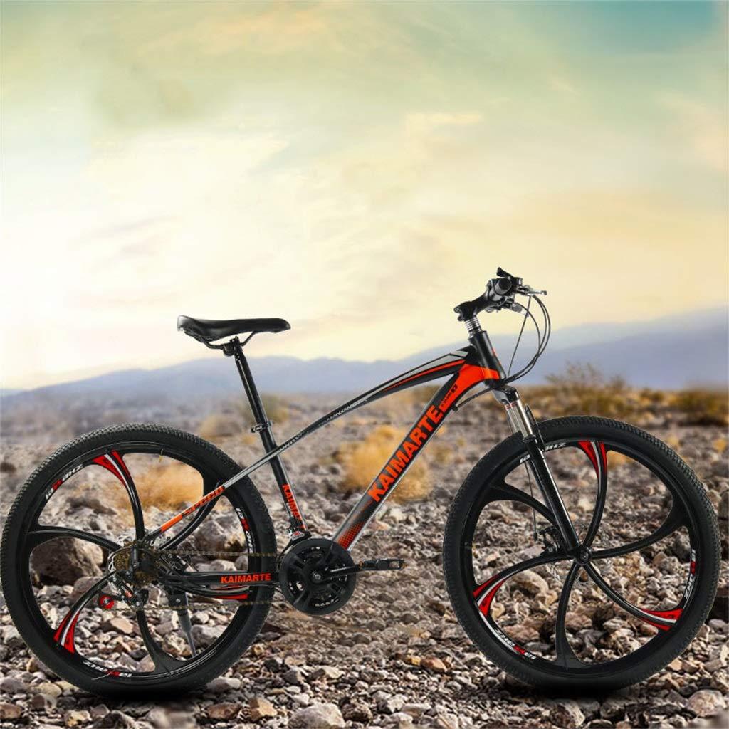 DBG Montaña Estudiante Adulto Amortiguador Moto Andar en Bicicleta de Velocidad Variable Conveniente para los Regalos de cumpleaños, etc,A,24 Inch 24 Speed: Amazon.es: Hogar