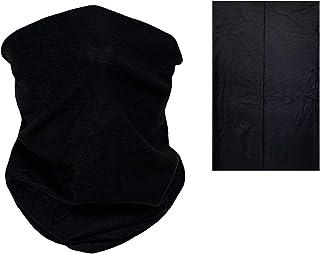 HEARTS ROB Kids Neck Gaiter - Seamless Face Covering Fashion Bandana Balaclava Dust Cover Headband Reusable Child Children Black