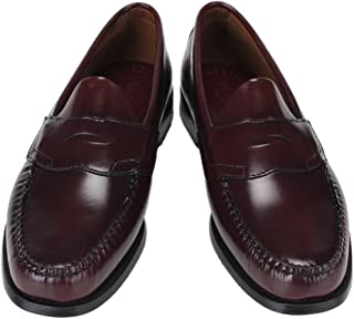 G.H.BASS [ G.H.バス ] Penny Loafer (LOGAN) ペニーローファー (ローガン) ブラック/バーガンティ/タン ローファー 革靴 [並行輸入品]