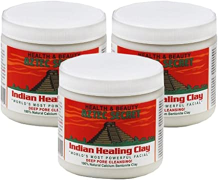 Aztec Secret Indian Healing Clay Deep Pore Cleansing, 1 Pound (Pack of 3)