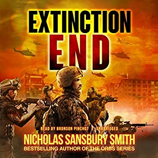 Extinction End audiobook cover art