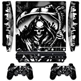 Designer Skin for Sony PlayStation PS3 SLIM System & Remote Controllers -Reaper