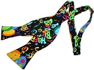 Mens Happy Birthday Men's Self-tie Bow Tie Party Balloons