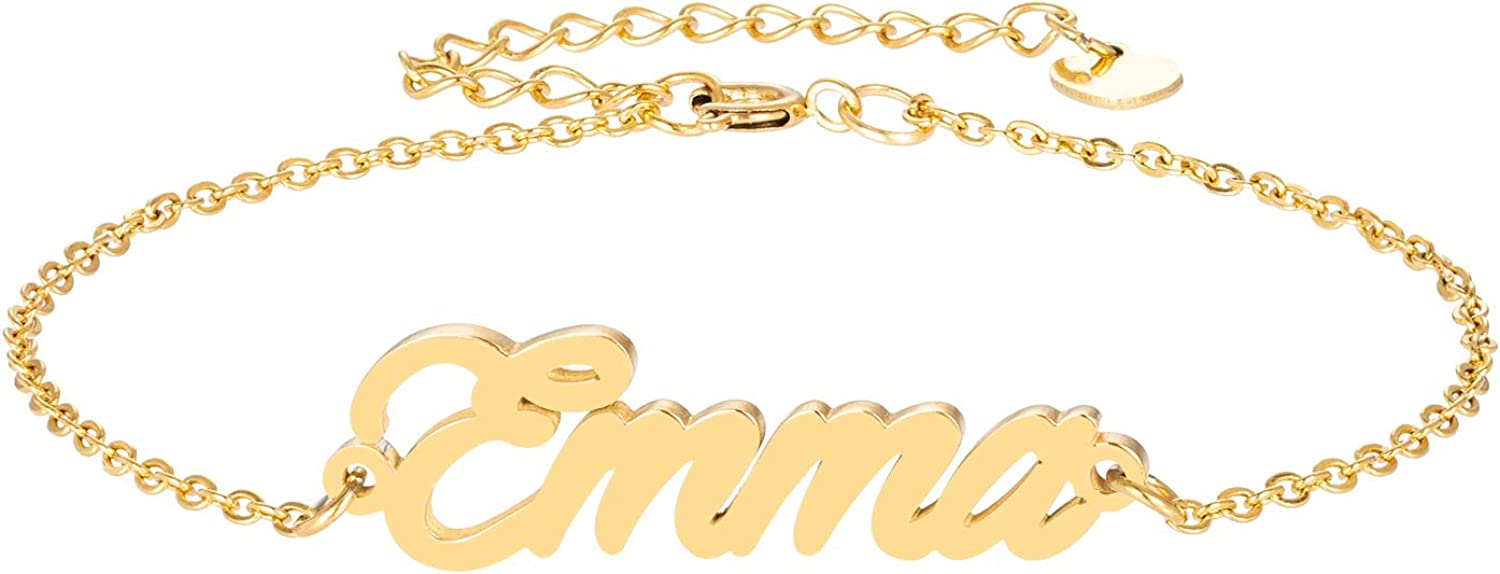 HUAN XUN Custom Name specialty Fort Worth Mall shop Necklace Cus Initial Necklaces Personalized