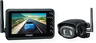 """$338 » Voyager WVHS43 Digital Wireless Prewire Camera System; Includes 1 WVOM43 Monitor 4.3"""" and 1 WVH100 Wired Camera; Supports ..."""