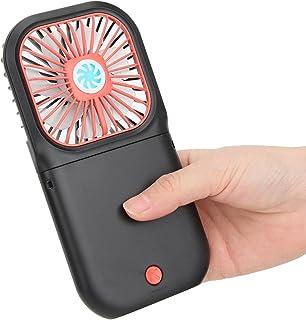 Socobeta handig, compac Mini Fan USB Fan opknoping Fan elegant voor thuiskantoor (zwart)
