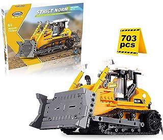 Technic Bulldozer Building Set, Bulldozer Construction Vehicles Compatible with Lego Dozer - 703 Pcs