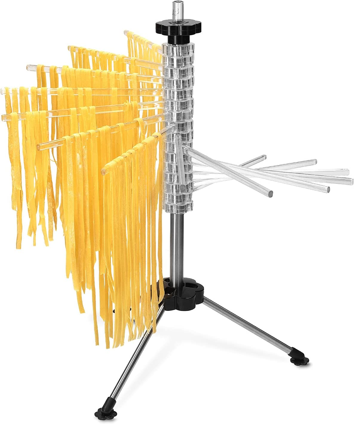 Navaris Collapsible Pasta Drying Rack Dr Tall - Max Dedication 80% OFF Noodle Spaghetti