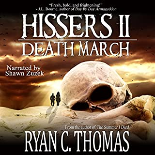 Hissers II audiobook cover art