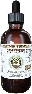 Meadowsweet Alcohol-FREE Liquid Extract, Meadowsweet (Filipendula Ulmaria) Herb Glycerite Herbal Supplement 2 oz