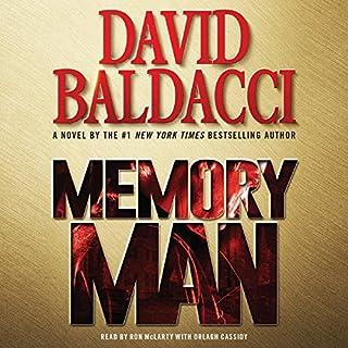 Memory Man audiobook cover art