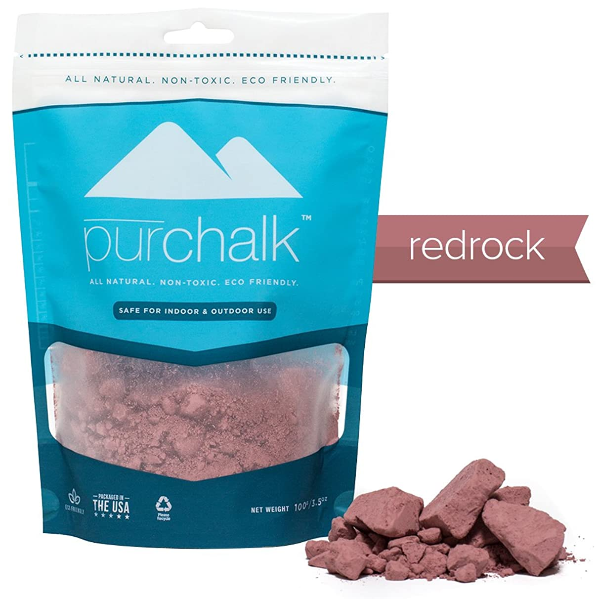 Pur Chalk   #1 Best Climbing Chalk   100% Natural Chalk for CrossFit, Powerlifting & Gymnastics   Eco- Friendly   Safe for Indoor & Outdoor Use   Gym , Workout & Weight Lifting Loose Chalk   100% Pure Magnesium Carbonate   Non-staining   Non-toxic   100% Money Back Guarantee