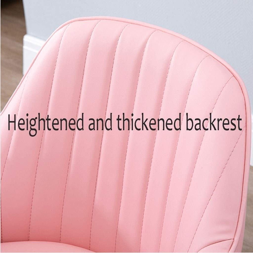 HEJINXL Chaises Salle Manger Chaise Cuisine Scandinave Chaise Bureau Chaise Ordinateur Fauteuil Maquillage Chaise Réception Cuir Avec Dossier Jambes Plaquées Or (Color : H) F