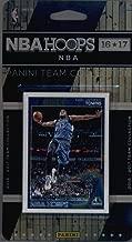 2016-17 Panini NBA Hoops FACTORY SEALED Minnesota Timberwolves Team Set of 13 Cards: Karl-Anthony Towns(#137), Andrew Wiggins(#138), Kevin Garnett(#139), Zach LaVine(#140), Ricky Rubio(#141), Shabazz Muhammad(#142), Cole Aldrich(#180), Jordan Hill(#219), Tyus Jones(#244), Gorgui Dieng(#245), Adreian Payne(#246), Brandon Rush(#247), Kris Dunn(#265)